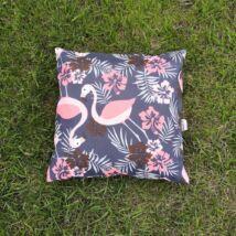 Kültéri vízálló párnahuzat  45x45 cm Flamingós