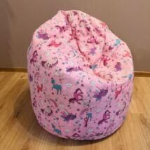 UNIKORNIS babzsák fotel (közepes méret) Pót huzat
