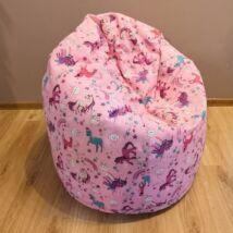 UNIKORNIS babzsák fotel (közepes méret)