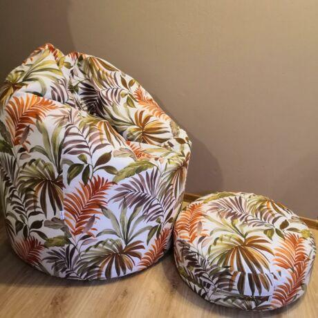 Pálma babzsák fotel (felnőtt méret)