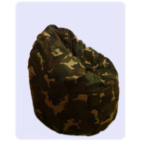 Military babzsák fotel (felnőtt méret)