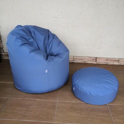 Kültéri babzsák kék