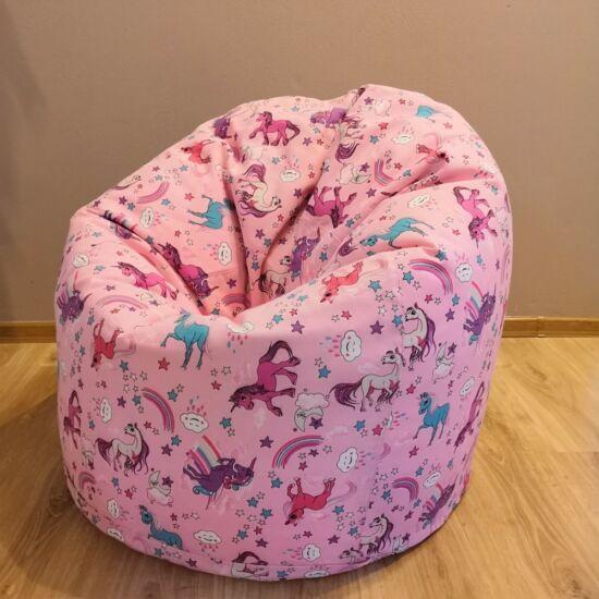 UNIKORNIS babzsák fotel (felnőtt méret)