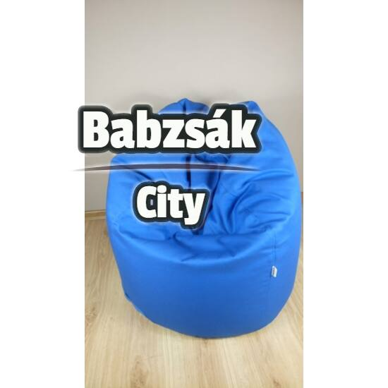 Pepsi kék Felnőtt babzsák fotel